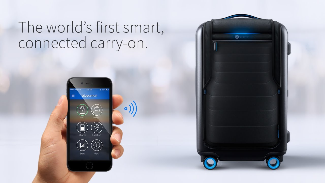 Bluesmart: حقيبة السفر الذكية