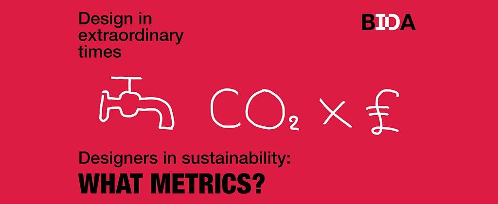 Designers in Sustainability: What metrics?