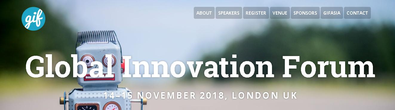 GIF London: Global Innovation Forum