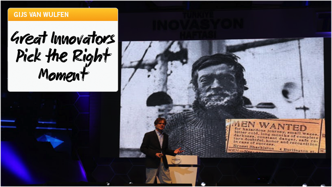 Great Innovators Pick the Right Moment