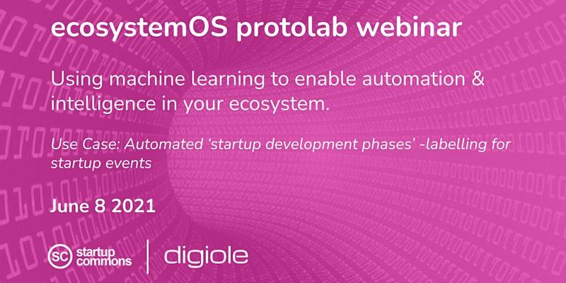 Using machine learning to enable ecosystem automation & intelligence