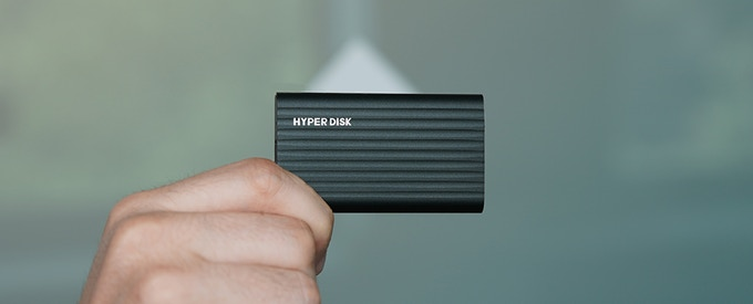 HyperDisk: The Smallest and Fastest Portable SSD