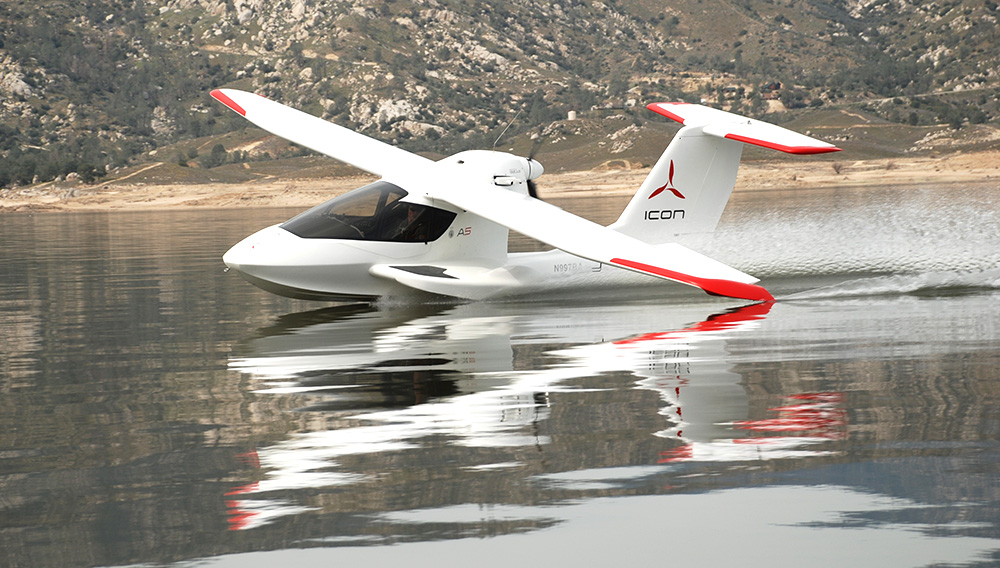 IconA5: Sea plane of the Future