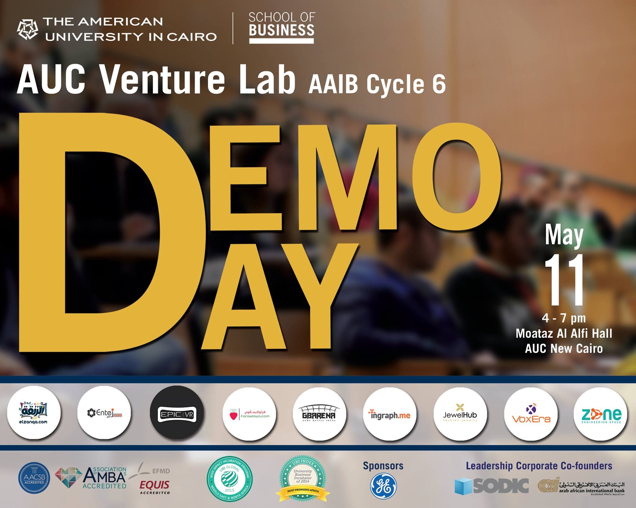 AUC Venture Lab Celebrates 9 Egyptian Startups This Wednesday