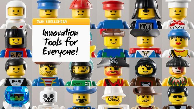 Lessons from Lego: Low Risk Innovation tools for Everyone!