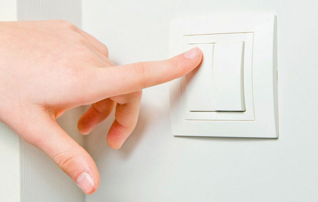Wifi enabled light switch