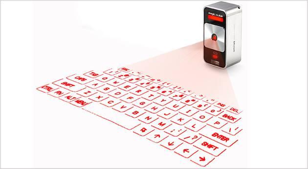 من هاتف إلى شاشة عرض -  لوحة مفاتيح  متنقلة