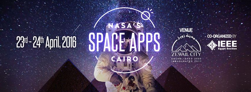 تحدي NASA Space Apps بالقاهرة '16