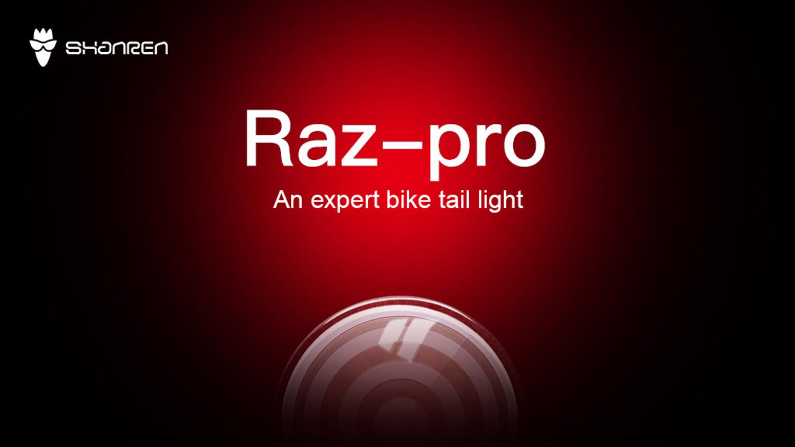 Raz: مصباح الدراجة الذكي