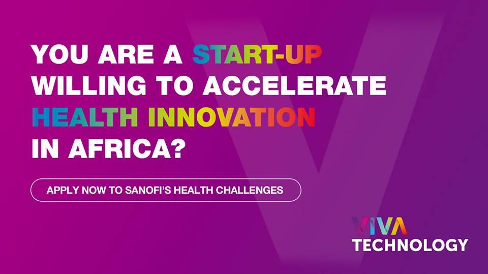 قدم الآن للحصول على فرصة لحضور Vivatech مع Sanofi في شهر مايو