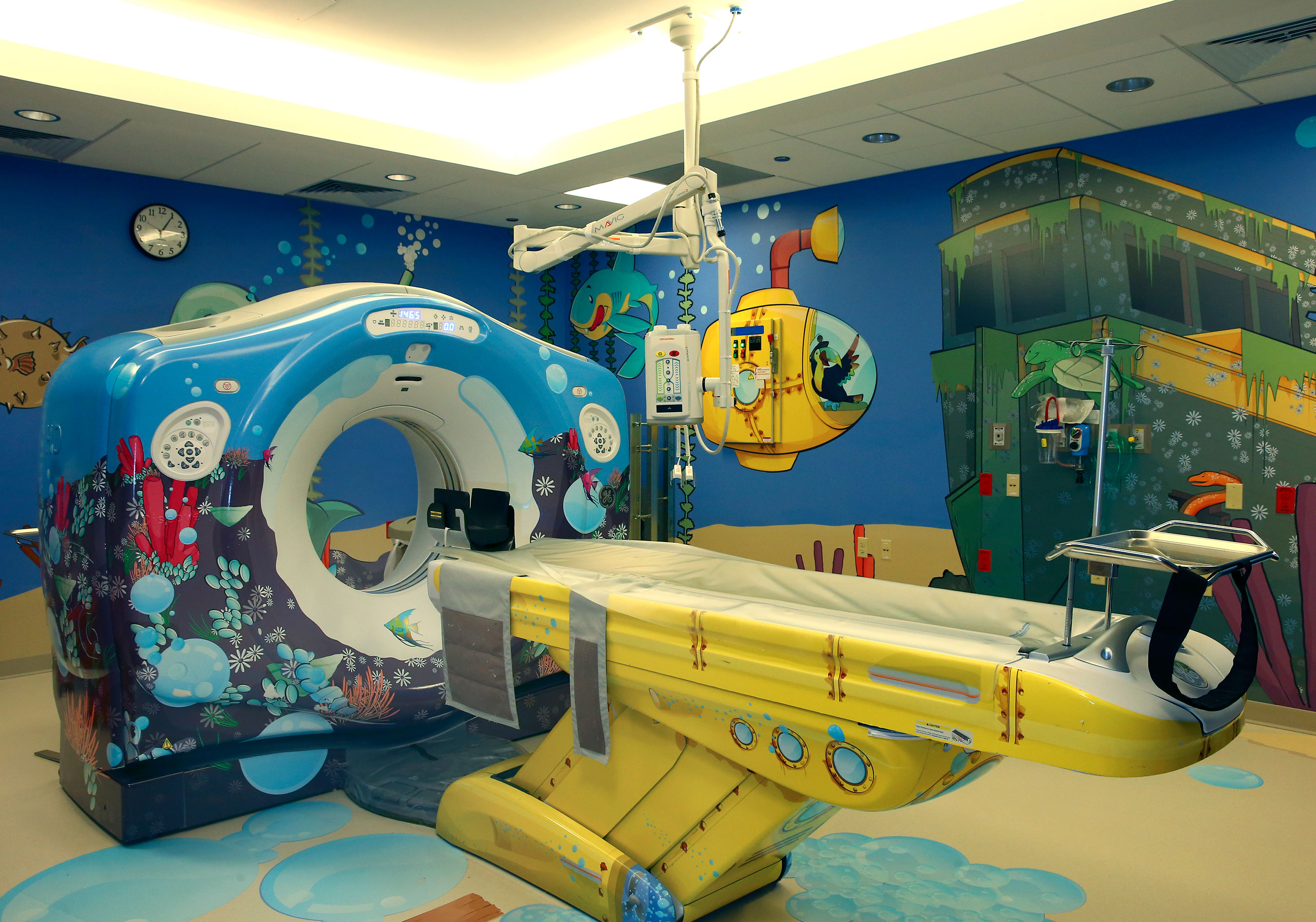 Kid-friendly Hospital Scans