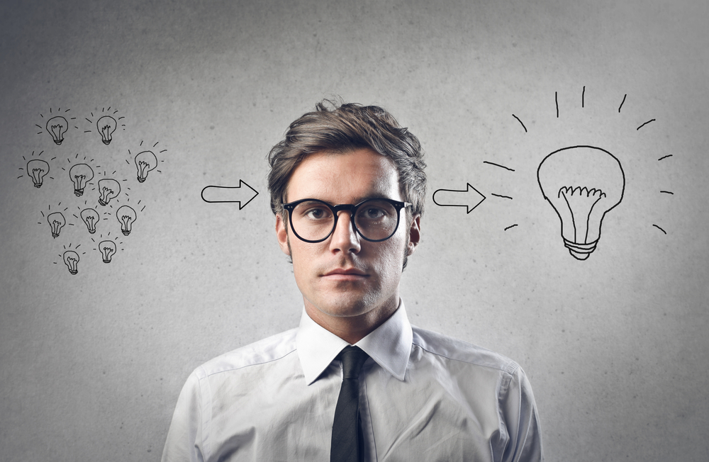 Stop talking about your brilliant ideas!