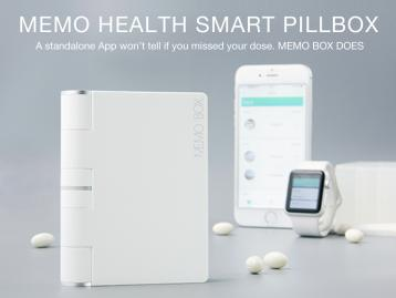 Memo Smart Pillbox