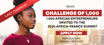 50 Egyptian Entrepreneurs invited to join the Africa-France 2020 Summit