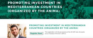 PROMOTING INVESTMENT IN MEDITERRANEAN COUNTRIES… Register Now!