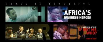 أبطال الأعمال في أفريقيا - فلم تسجيلي، سجل الآن ربما تكون البطل القادم