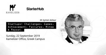 Startups: Challenges & Achievements with Ayman Ashour
