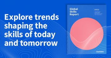 Egypt improved its position in the 2021 Coursera Global Skills Report