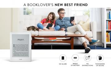 Amazon: Kindle Wireless e-Reading Platform