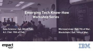 Emerging Tech Workshops by IBM