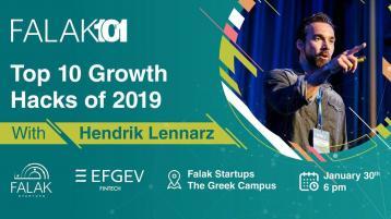 Falak 101: Growth Hacks with Hendrik Lennarz