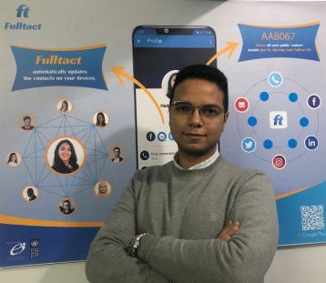 Egyptian Social Communication Startup Fulltact Showcases at CES