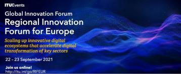 منتدى الابتكار الإقليمي لأوروبا 2021