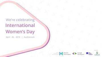 اليوم العالمي للمرأة (IWD '19)