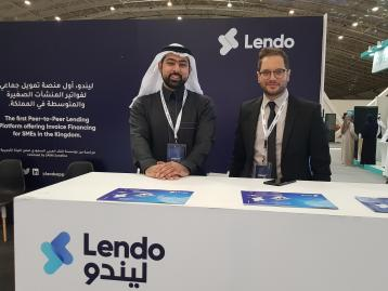 SAUDI FINTECH STARTUP LENDO SET TO UNLOCK INVOICE FINANCING FOR SMEs LAUNCHES AT ARABNET RIYADH
