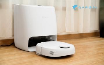 Narwal: مكنسة وممسحة آلية وذاتية التنظيف