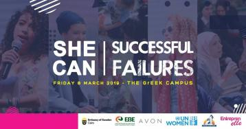 She Can '19: Learning From Failed Experiences to Achieve Success