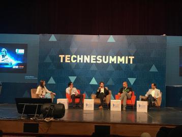 افتتاح قمة تيكني للتكنولوجيا بحضور مسئولين وخبراء محليين وعالميين
