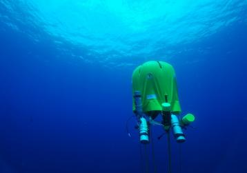 Ocean Space Habitat: Underwater Tent
