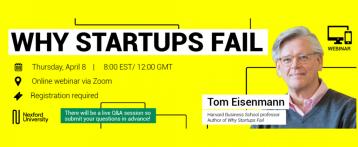 Why Startups Fail? Webinar