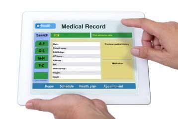 السجلات الطبية الإلكترونية
