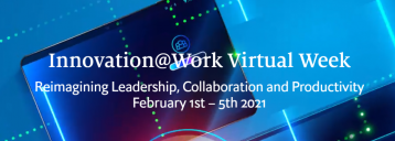 Innovation@Work Virtual Week Reimagining Leadership, Collaboration and Productivity