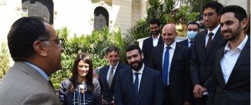 Egyptian PM receives Mustafa Kandil, Swvl's  CEO