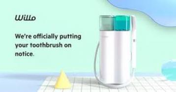 Willo: روبوت فرشاة الأسنان