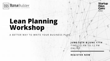 Lean Planning Workshop - Better Way to Write Your Business Plan
