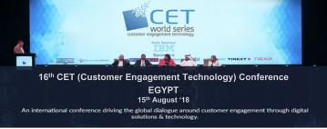 CET Conference 2018 Focuses on New Ways of Customer Engagement