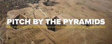 RISEUP LAUNCHES PITCH BY THE PYRAMIDS, A REGIONAL, MULTI-STAGE PITCH COMPETITION
