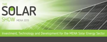 معرض الطاقة الشمسية في الشرق الأوسط 2019