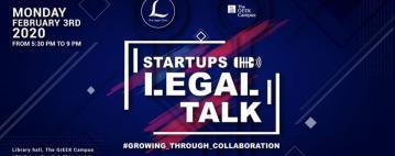 جلسات توجيه قانوني للشركات الناشئة - Startups Legal Talks