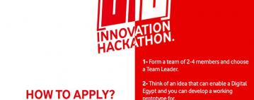 Innovation Hackathon 010 - هاكاثون الابتكار 010 من فودافون