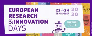 Register now for the European Research and Innovation Days