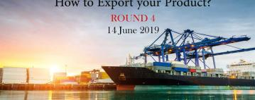 الورش العملية للتصدير - How to Export your Product? Round 4