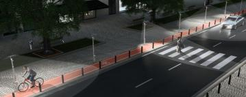 الإنارة الذكية للشوارع