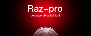 RAZ: AN EXPERT BIKE TAIL LIGHT
