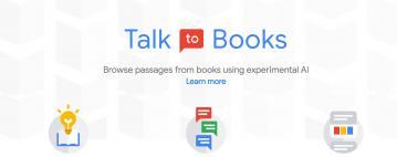 Google's Talk To Books