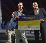 Egyptian startup Amjaad Wins Third Place at Rise Up's Pitch by the Pyramids